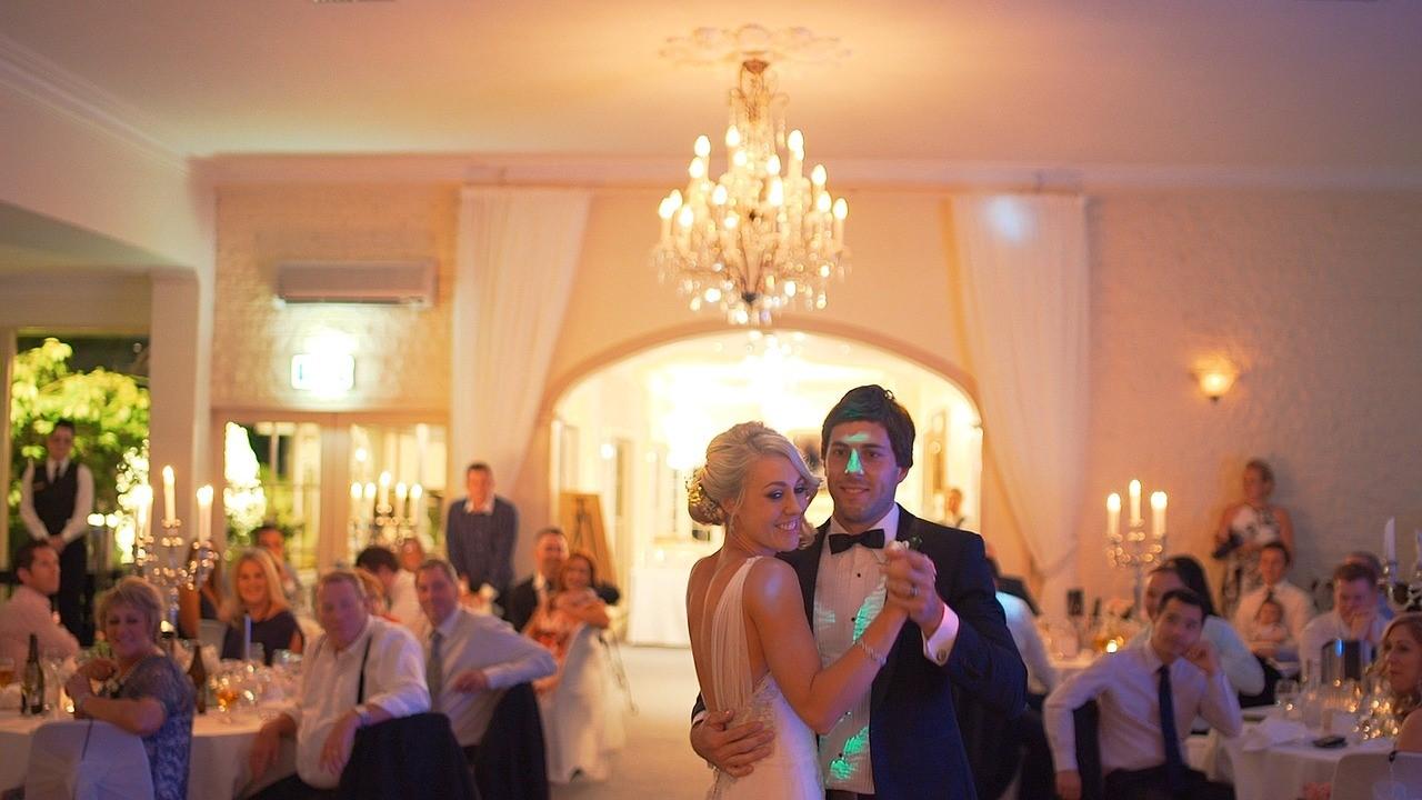 První tanec ženicha a nevěsty